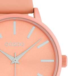 Oozoo C10617 Women's Watch with Leather Strap Soft Pink 42 mm