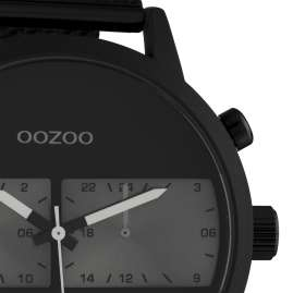 Oozoo C10514 Men's Watch with Metal Strap Black Chrono Look