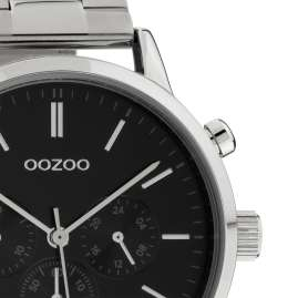 Oozoo C10546 Men's Watch with Stainless Steel Bracelet Chrono Look 42 mm