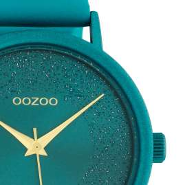 Oozoo C10581 Ladies' Watch Leather Strap Ø 42 mm Viridian Green