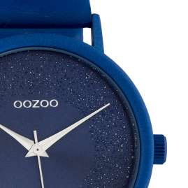 Oozoo C10583 Ladies' Watch with Leather Strap Ø 42 mm Blue