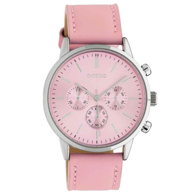Oozoo C10595 Damen-Armbanduhr im Chrono-Look Rosa 40 mm 8719929018592