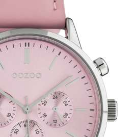 Oozoo C10595 Damen-Armbanduhr im Chrono-Look Rosa 40 mm