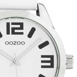 Oozoo C1050 Watch XL White 46 mm