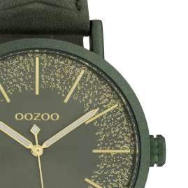 Oozoo C10148 Wrist Watch Dark Green 42 mm