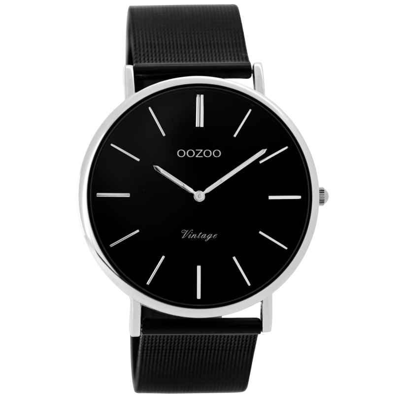 Oozoo C8865 Unisex Wrist Watch Vintage Black 40 mm 9879012519968