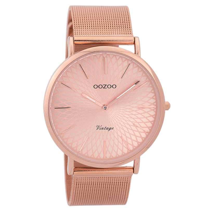 Oozoo C9343 Damen-Armbanduhr Vintage Rosé 40 mm 8719929001822