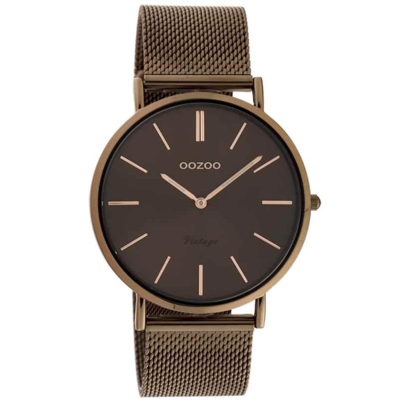 Oozoo C20004 Women's Watch Ultra Slim Brown 40 mm 8719929015935