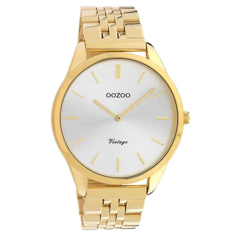 Oozoo C9986 Ladies' Watch Metal Bracelet Ø 38 mm Gold Tone / Silvery 8719929013689