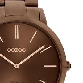 Oozoo C20103 Herren-Armbanduhr Braun Metallband Ø 42 mm