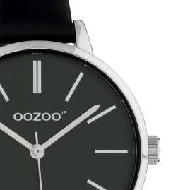 Oozoo JR315 Ladies' Watch with Leather Strap 34 mm Black