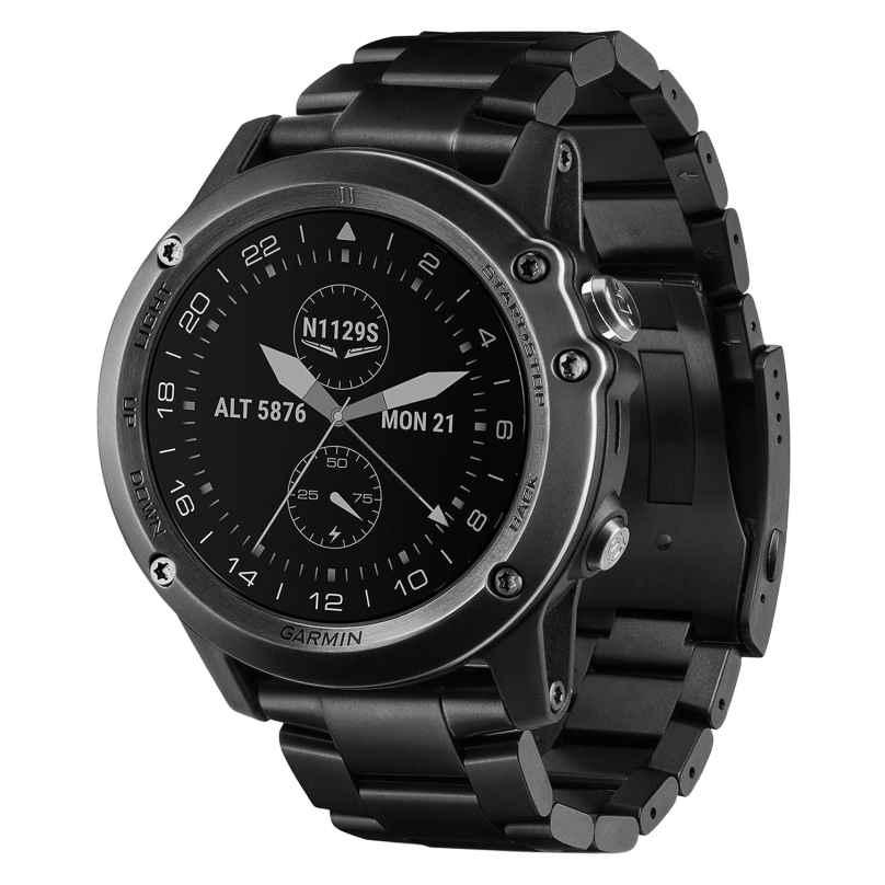 Garmin 010-01338-35 D2 Bravo HR Titan Piloten-Smartwatch 0753759161873