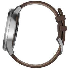 Garmin 010-01850-04 vivomove HR Premium Fitness Tracker Smartwatch L Brown