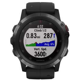 Garmin 010-01989-01 fenix 5X Plus Sapphire GPS Multisport Smartwatch Black
