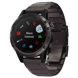 Garmin 010-01988-03 fenix 5 Plus Sapphire Titanium GPS Multisport Smartwatch