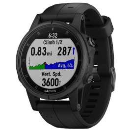 Garmin 010-01987-03 fenix 5S Plus Saphir GPS Multisport Armbanduhr Schwarz