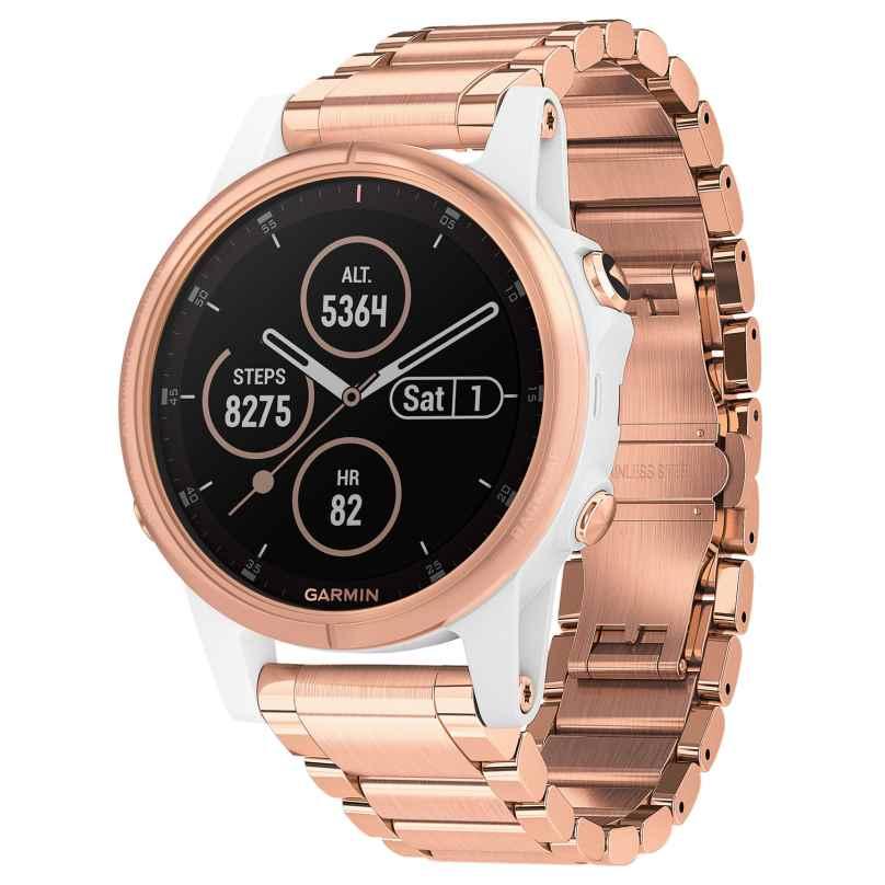 Garmin 010-01987-11 fenix 5S Plus Sapphire GPS Multisport Wristwatch 0753759206987