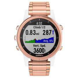 Garmin 010-01987-11 fenix 5S Plus Saphir GPS Multisport Armbanduhr