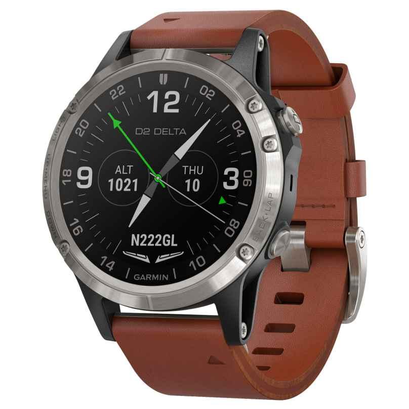 Garmin 010-01988-31 D2 Delta GPS Aviator Watch Smartwatch 0753759219994