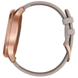 Garmin 010-01850-09 vivomove HR Premium Ladies Smartwatch Rose Gold/Grey