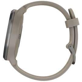 Garmin 010-01850-03 Smartwatch vivomove HR Sport Schwarz/Sandstein