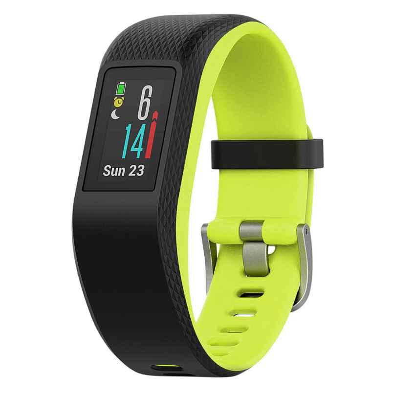 Garmin 010-01789-03 vivosport GPS-Fitness-Tracker L Schwarz/Limelight 0753759180638