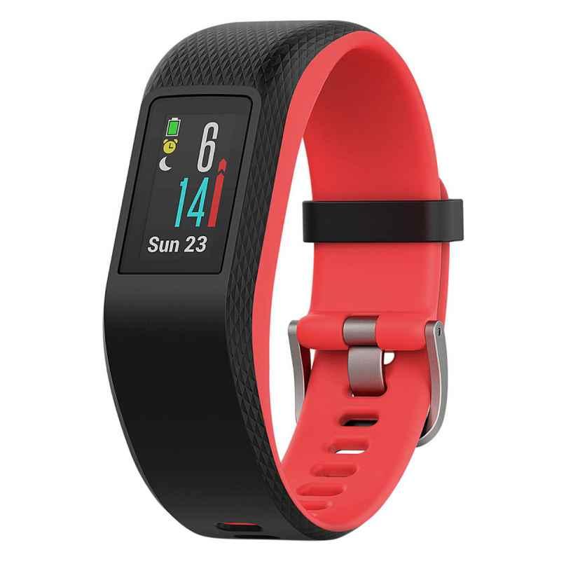 Garmin 010-01789-01 vivosport GPS-Fitness-Tracker Größe S/M Schwarz/Fuchsia 0753759180614