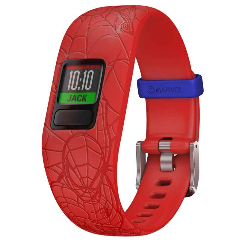 Garmin 010-01909-16 vivofit jr. 2 Spider-Man Aktivitäts-Tracker für Kinder 0753759211424