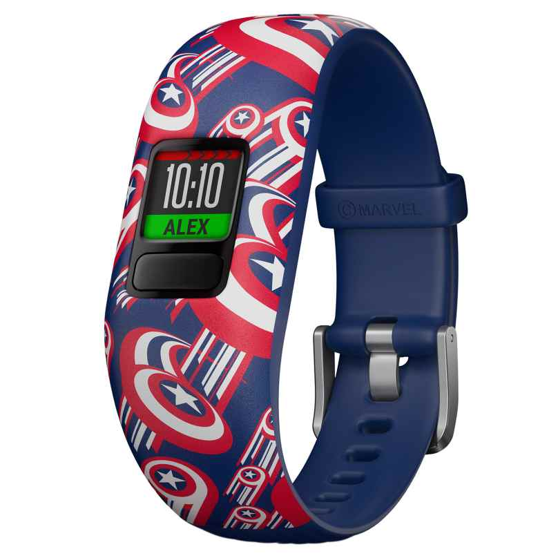 Garmin 010-01909-12 vivofit jr. 2 Marvel Avengers Fitness-Tracker für Kinder 0753759187033