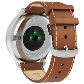 Garmin 010-01850-AA vivomove HR Premium Fitness-Tracker Smartwatch Hellbraun