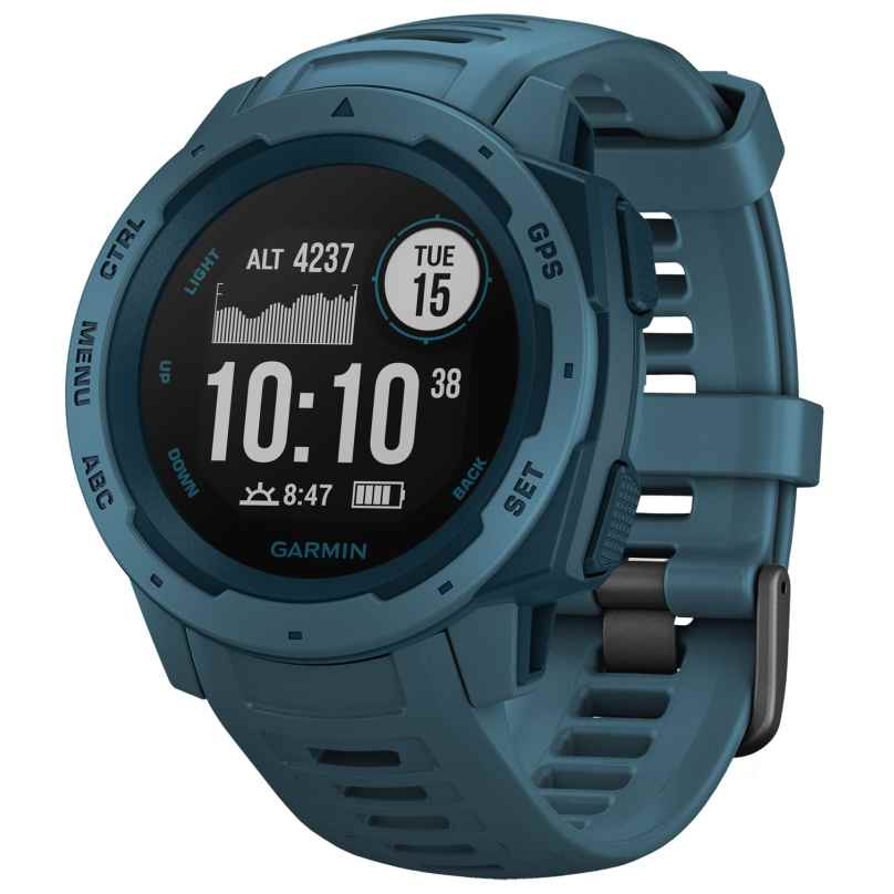 Garmin 010-02064-04 Instinct Outdoor Smartwatch Blue 0753759228637