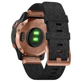 Garmin 010-02159-37 fenix 6S Sapphire Smartwatch Rose Gold/Black