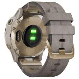 Garmin 010-02159-40 fenix 6S Sapphire Smartwatch Gold/Beige