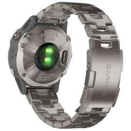 Garmin 010-02158-23 fenix 6 Saphir Smartwatch Grau/Titan