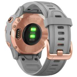 Garmin 010-02159-21 fenix 6S Saphir Smartwatch Roségold/Grau
