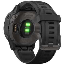 Garmin 010-02159-25 fenix 6S Saphir Smartwatch Schwarz