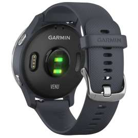 Garmin 010-02173-02 Venu GPS Fitness Smartwatch Granite Blue/Silver