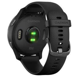 Garmin 010-02173-12 Venu GPS Fitness-Smartwatch Schwarz/Schiefergrau