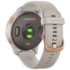 Garmin 010-02173-22 Venu GPS Fitness-Smartwatch Beige/Rose Gold