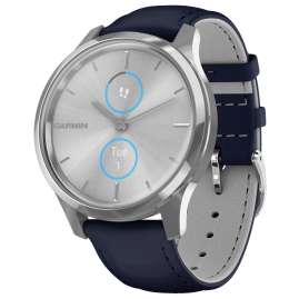 Garmin 010-02241-00 vivomove Luxe Smartwatch