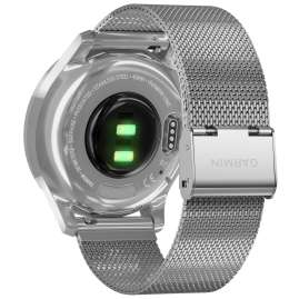 Garmin 010-02241-03 vivomove Luxe Smartwatch mit Milanaiseband