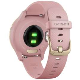 Garmin 010-02238-01 vivomove 3S Smartwatch Silicone Strap Dust Rose/Gold