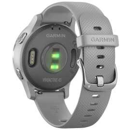 Garmin 010-02172-02 vivoactive 4s GPS Fitness-Smartwatch Grau/Silber