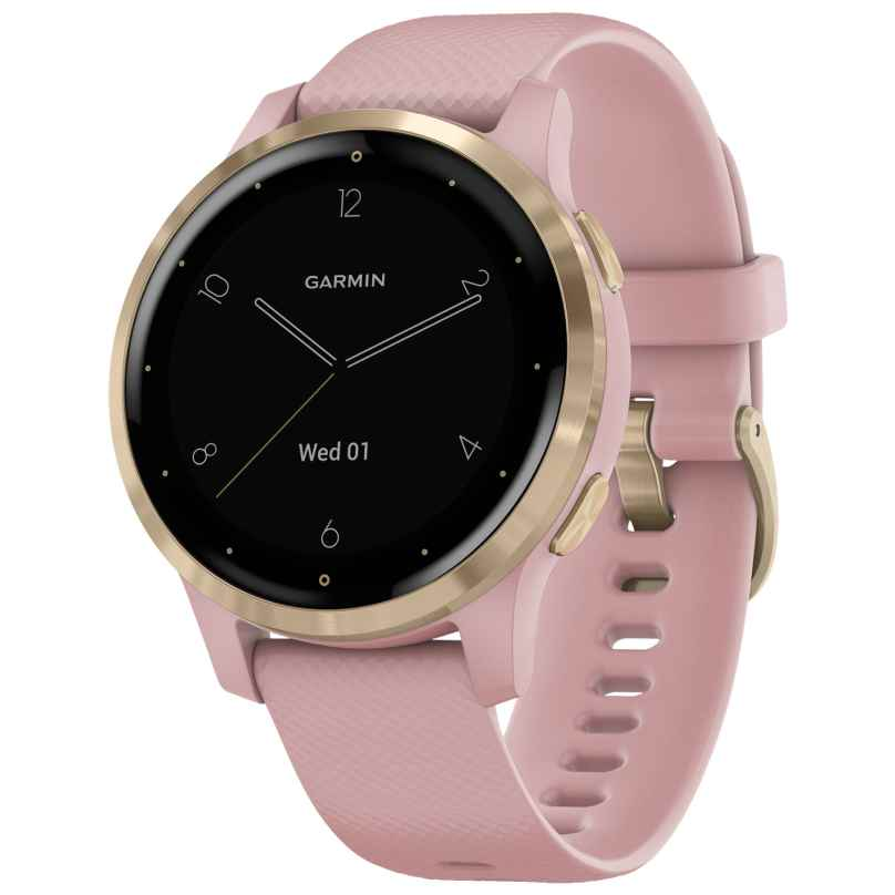 Garmin 010-02172-32 vivoactive 4s GPS Fitness Smartwatch Rose/Gold 0753759227777