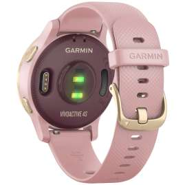 Garmin 010-02172-32 vivoactive 4s GPS Fitness Smartwatch Rose/Gold