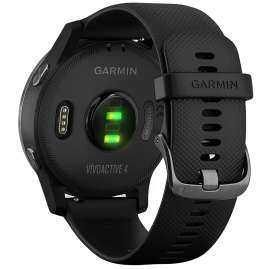 Garmin 010-02174-12 vivoactive 4 GPS Fitness Smartwatch Black/Slate Grey