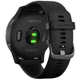 Garmin 010-02174-12 vivoactive 4 GPS Fitness-Smartwatch Schwarz/Schiefergrau