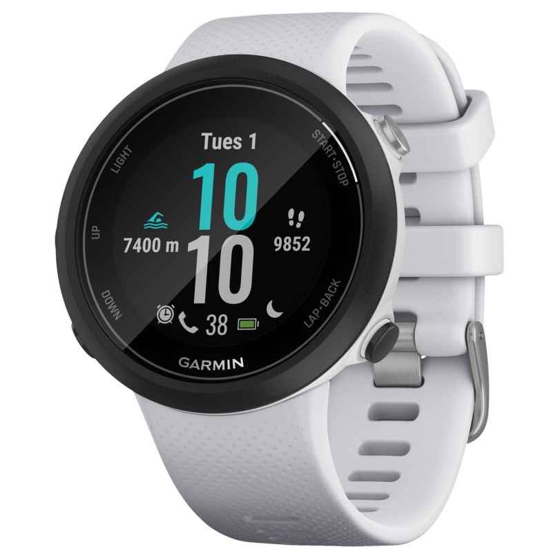 Garmin 010-02247-11 Swim 2 Smartwatch Stone White/Black 0753759229313