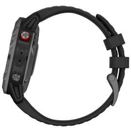 Garmin 010-02410-15 Fenix 6 Pro Solar Smartwatch Black / Slate Grey