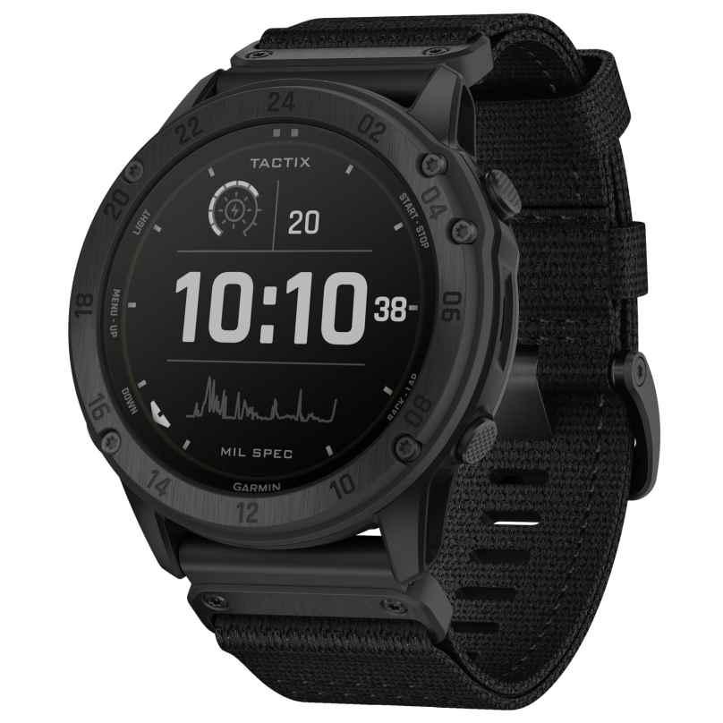 Garmin 010-02357-11 Tactix Delta Solar GPS Smartwatch Black 0753759245320